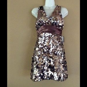 Forever 21 Shimmering Sequence Dress NWT Size M